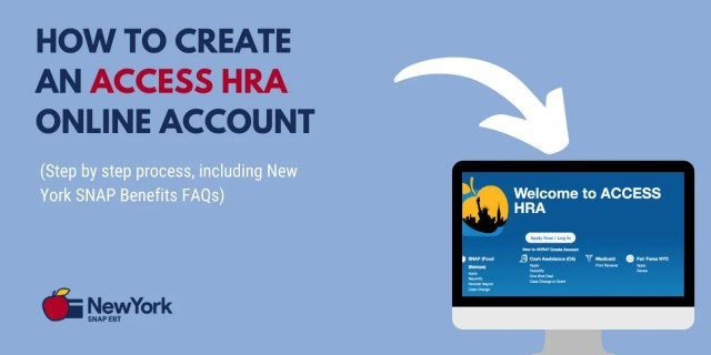 """""""How to Create ACCESS HRA Account for NYC"""""""
