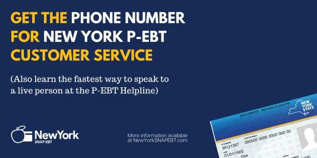 """New York P-EBT Phone Number"""