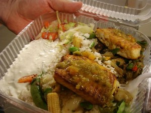 Tilapia from Kwik Meal cart