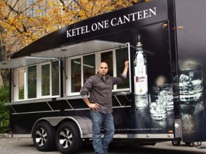 Chef Michael Psilakis and the Ketel One Canteen