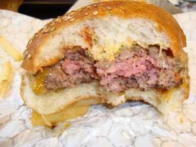 burger used