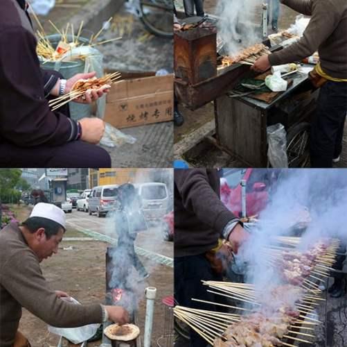 Uighur vendor