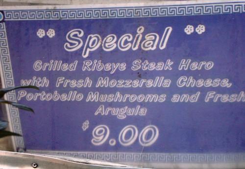 menu steak