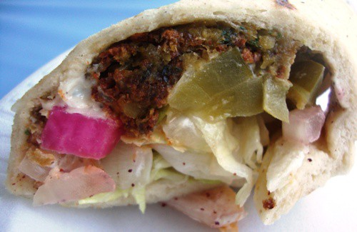 King of falafel sandwich
