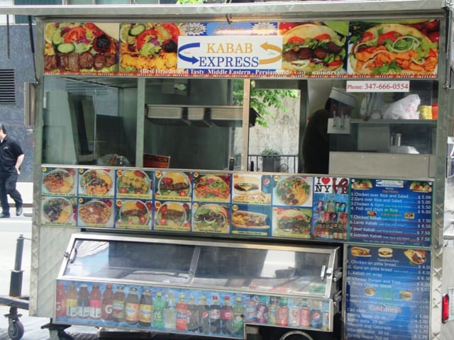 Kebab Express (SE corner 55th St & 6th Ave)