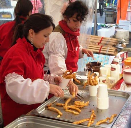churro stand