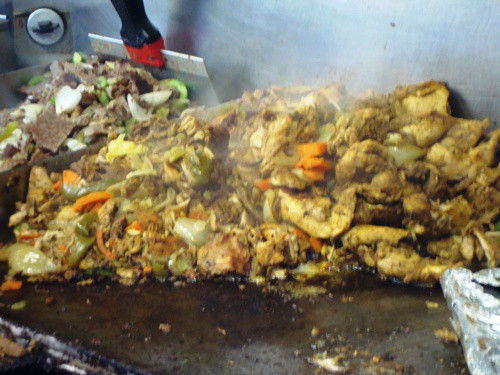 chix on grill