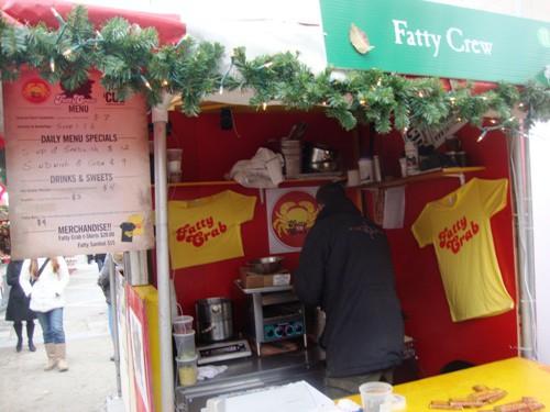 Fatty Crew stall