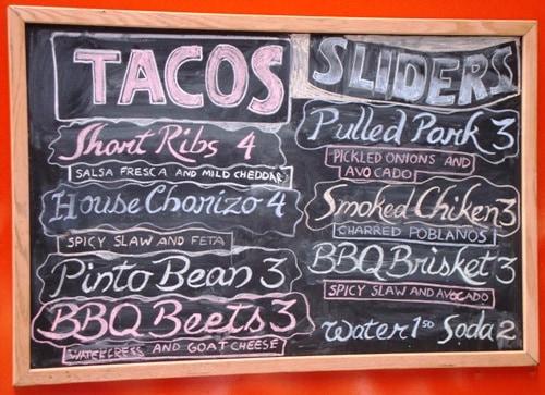 mexicue menu