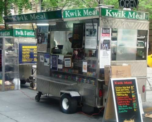 Kwik Meal (SW corner of 6th Ave & 45th St)