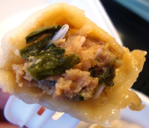 dumpling eaten