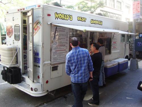 World's Best Sandwich Truck (20th bet Park & Bdwy)