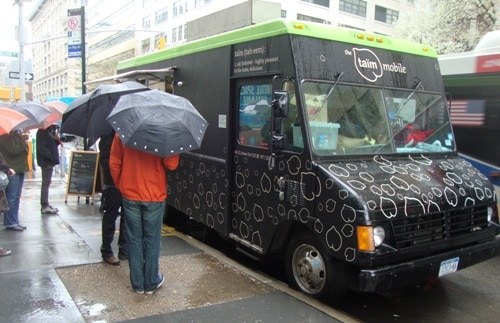 Taim Food Truck Kosher