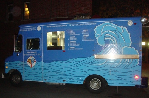 Fishing Shrimp Food Truck