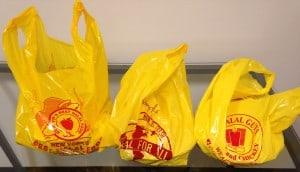 Halal Street Cart Bags