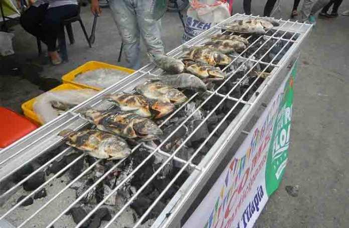 Tilapia street food