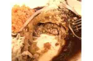De Mole Enchiladas de Pollo con Mole Poblano