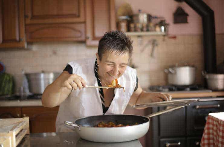 Cooking with Correct Utensils