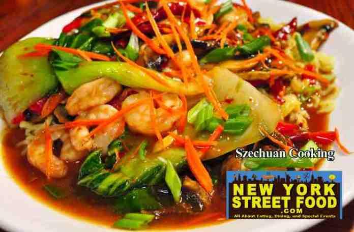 Szechuan cooking