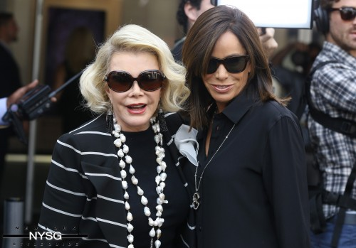 Joan and Melissa Rivers 9-6-13
