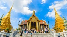The Famous Grand Palace in Bangkok Thailand
