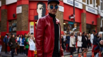 London Fashion Week Street Style AW16