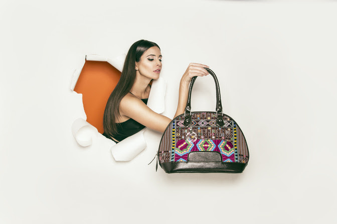 Alida Boer, Designer of Maria's Bag