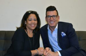 Emily Marinez with David Tutera