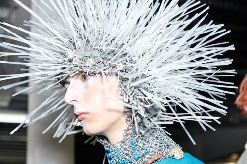 MAN SS17 (Sam Wilson, British Fashion Council) Backstage
