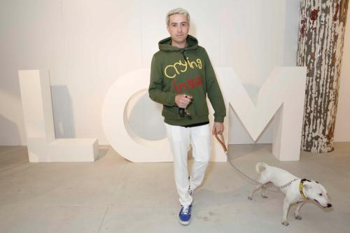 Nick Grimshaw attends Oliver Spencer at BFC Show Space (Darran Gerrish, British Fashion Council)