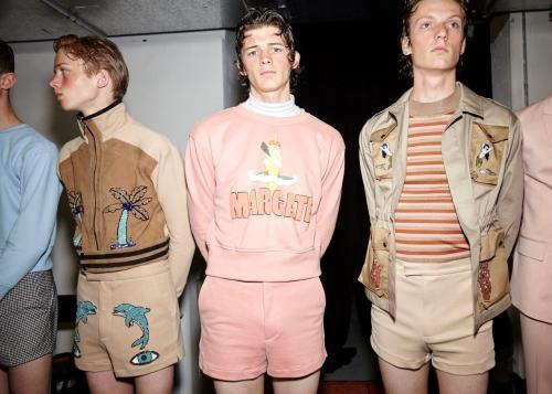 TOPMAN SS17 (Sam Wilson, British Fashion Council) Backstage