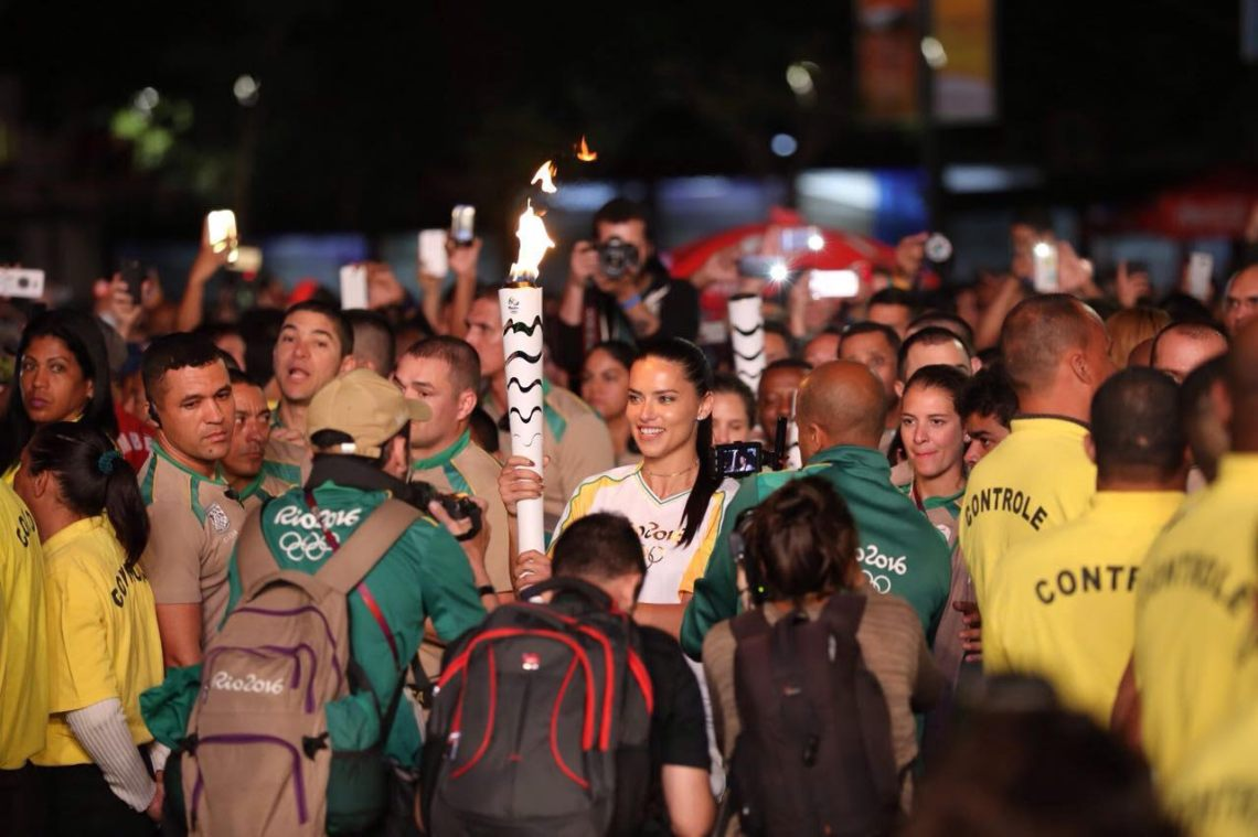 Olympic Torch ahead of Opening Ceremonies