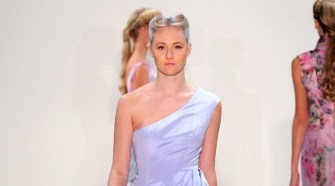 Irina Vitjaz Dazzles New York Fashion Week