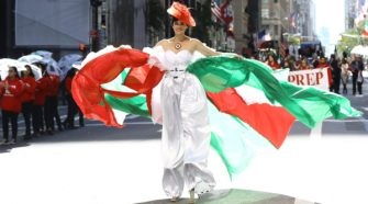 Columbus Day Parade in NYC
