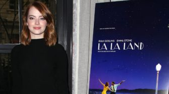 Emma Stone attends luncheon to celebrate La La Land hosted by Buleit Bourbon at Le Coucou in NYC 1 e1480332887924