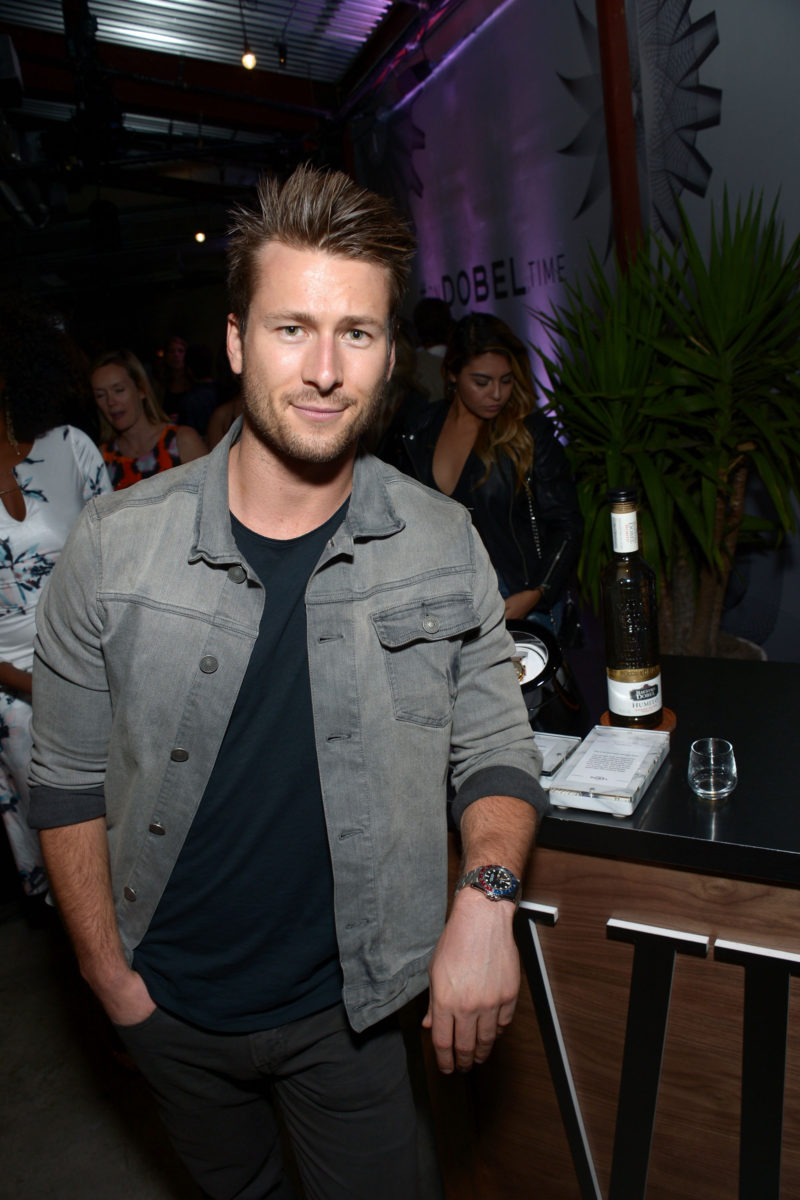 LOS ANGELES, CA - NOVEMBER 16: Actor Glen Powell attends the Los Angeles Insiders celebrate On Dobel Time - A Celebration of Time and Spirit on November 16, 2016 in Los Angeles, California. (Photo by Matt Winkelmeyer/Getty Images for Proximo Spirits)