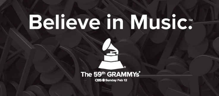 THE 59TH ANNUAL GRAMMY AWARDS
