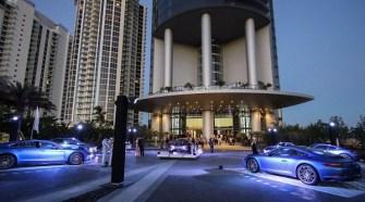 Porsche Design Tower Miami on March 18, 2017 in Miami Beach, Florida