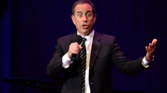 Jerry Seinfeld at Daivid Lynch Foundation National Night of Laughter and Song 1 e1496756320681
