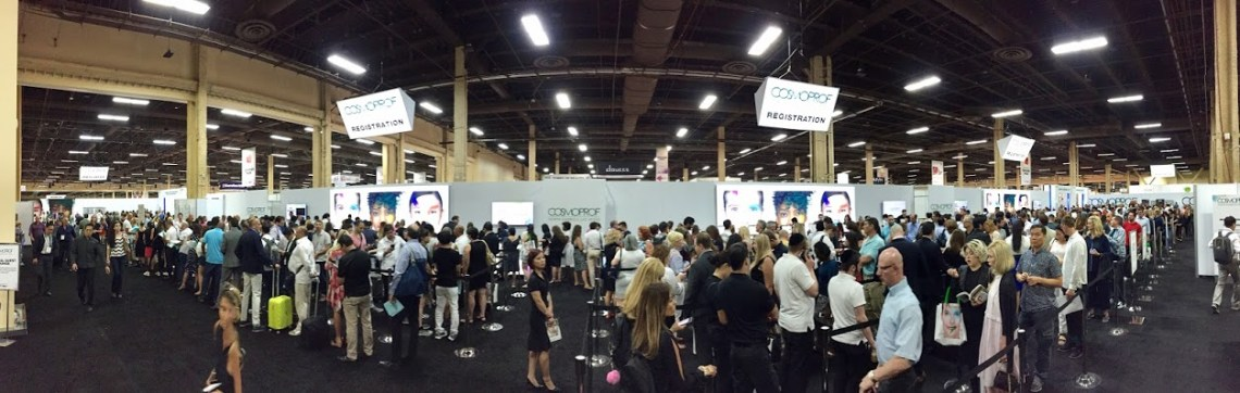 Cosmoprof Registration Area - New York Style Guide