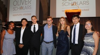 FASHION SUPPORTS OLIVER SCHOLARS