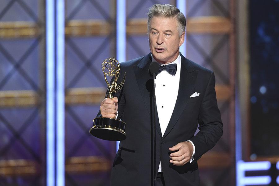 2017 Emmy Awards with Alec Baldwin