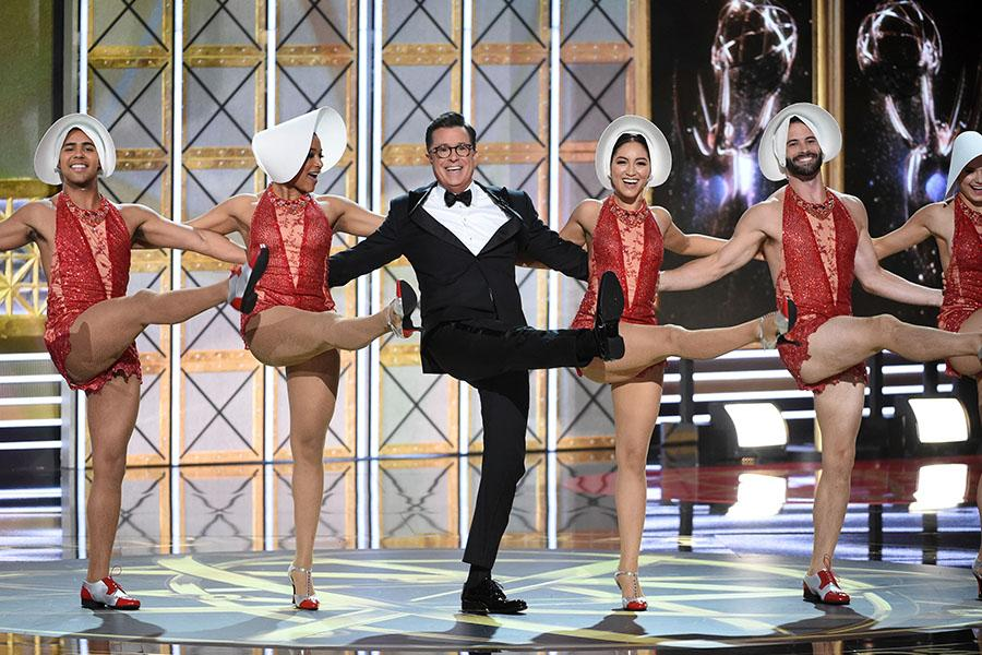 2017 Emmy Awards with Stephen Colbert