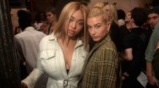 Jordyn Woods, Hailey Baldwin at E!, ELLE & IMG NYFW Kickoff PartySponsored by TRESemmé