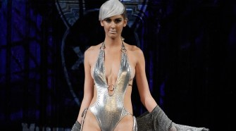 Mister Triple X Metallix Collection at New York Fashion Week NYFW Art Hearts Fashion SS/18