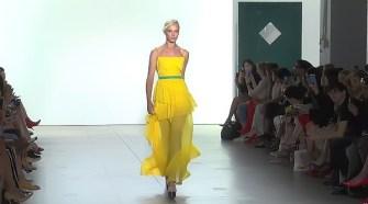 Leanne Marshall Runway Show New York Fashion Week Spring-Summer 2018