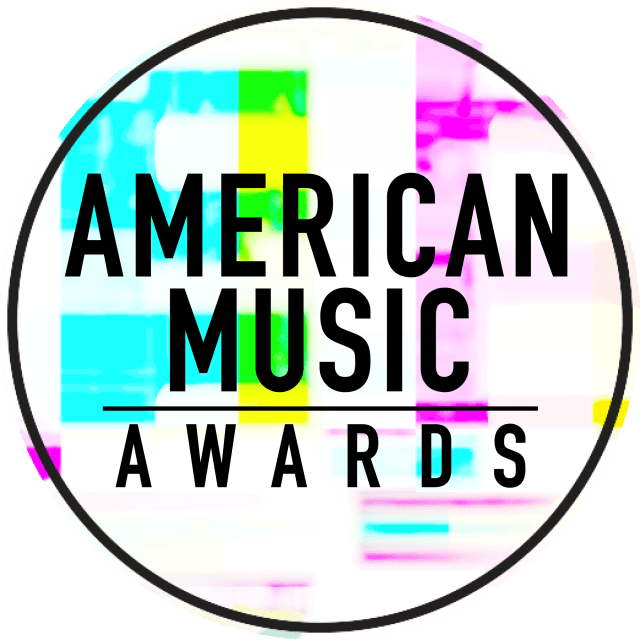 American Music Awards_Black_On Color Texture