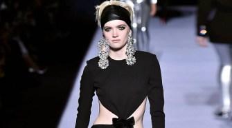 Tom Ford Fall Winter 2018 Womenswear Runway Show at New York Fashion Week