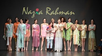 Nazia Rahman Runway Show from Los Angeles Fashion Week