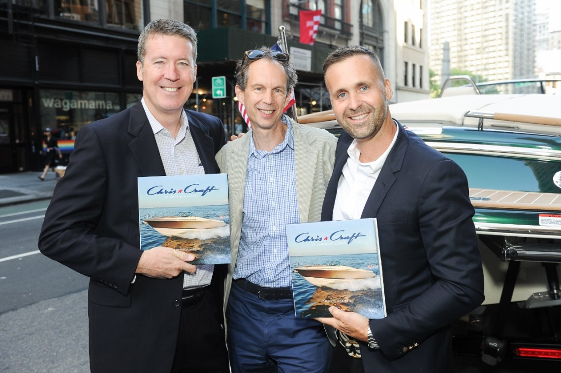 Chris-Craft book launch by author Nick Voulgaris III at the Rizzoli Bookstore : featuring the debut of the Ralph Lauren Home Edition Capri